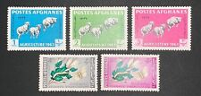 Travelstamps: 1963 Afghanistan Stamps Scott #637-41 Agriculture Mint MOGH