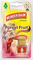 Wunderbaum® 4 Stück Duftflakon Forest Fruit Lufterfrischer Duftbaum Autoduft