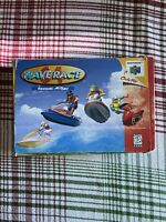Authentic Original Tested Working Wave Race 64 Complete In Box CIB Manual