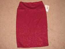Ladies Juniors LULA ROE Garnet Red Skirt (XS)