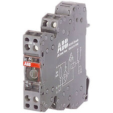 ABB RB122A 24V AC/DC 1SNA645012R2500 Screw Relay 1DPDT 1mA up to 6A with LED