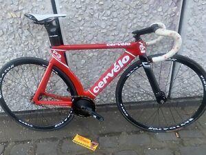 Cervelo P3 Carbon Track Bike , Fixed Wheel velodrome 50cm C To Top