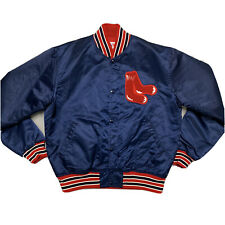 Vintage Starter Boston Red Sox MLB Satin Jacket Men's Large Mint Condition USA