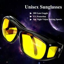 UV Protection Glasses Lenses Sunglasses HD Unisex Night Vision Goggle Driving US