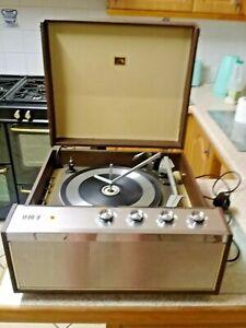 1967 hmv record player model 2012 rare excellent condition great sound garrard