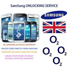 Unlock code for O2 UK Samsung Mobile Phone all models supported