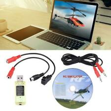 22 in 1 RC USB Simulator with Cables for Realflight G7/ G6/ G5 Phoenix 4 E2HG