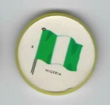 1963 General Mills Flags of the World Premium Coins #8 Nigeria