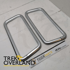 Land Rover Discovery 4 Pair of Chrome Front Seat Belt Surrounds - DA1474