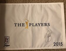 2015 Players TPC Golf Flag Pin Champ US Open PGA British Open Fedex Masters USGA