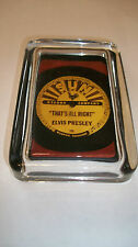 Elvis Presley SUN RECORD That's All Right TV Music Advertising Sign PAPERWEIGHT
