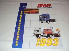 W/4/13/1 modello di auto auto Catalogo Prospetto AMW modelli in miniatura programma 1993