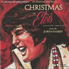 The Jordanaires - Christmas To Elvis   new cd