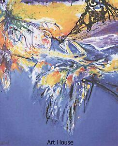 "Dahl   ""Blue tango""   100x70cm   Print   8005"