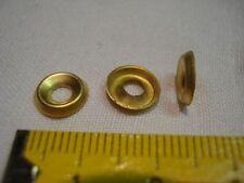 20 cuvettes en laiton pour vis de 3 mm ,ou  rondelles à vis de 3 mm