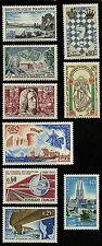 France   1966   Scott # 1154-1162   MNH Individual Sets