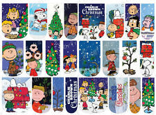24 WATER SLIDE NAIL DECALS * A CHARLIE BROWN CHRISTMAS  * FULL NAIL COVERS
