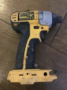 DEWALT DC827 18V CORDLESS IMPACT DRIVER BODY ONLY