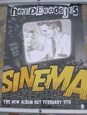 HEIDEROOSJES Sinema 2004 d/sided tour poster 24 x 16  original