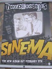 HEIDEROOSJES Sinema 2004 d/sided tour poster 24 x 16  original