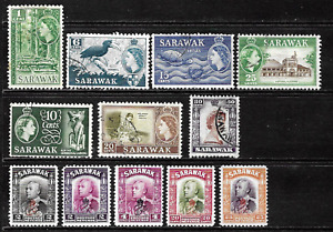 Sarawak .. Collection of Postage Stamps .. 6903