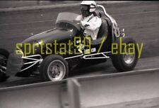 Dirt Track Midget Car #8 - c1967 Sacramento CA - Vintage 35mm Race Negative 9038