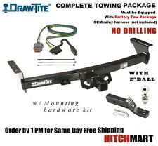 5K TRAILER HITCH PACKAGE FOR 2005-2016 NISSAN FRONTIER PICKUP w/ TOW PKG  75282