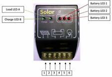 Solar Tech Steca Charge Controller 12V 24V 30Ah Voltage Regulator-New-STSPR30