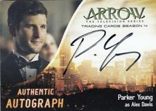 ARROW SEASON 4 - PARKER YOUNG (ALEX DAVIS) AUTOGRAPH CARD PY