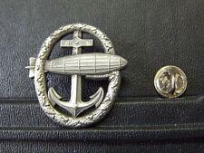 Fahnen Flagge Pin Luftschiff Abzeichen Marine Anker Zeppelin - 3,5 x 3,5 cm