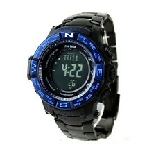 Casio ProTrek Atomic Solar Triple Sensor Black Titanium Watch PRW-3500SYT-1