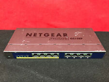 NETGEAR ProSafe GS108P 8-port 10/100/1000 Gigabit Switch with 4-port PoE