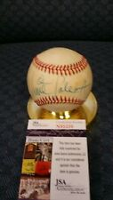Vince Coleman autographed NL Feeney baseball. JSA authenticated.
