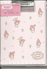 Sanrio My Melody Clip Binder With Printed Notesheets Purse Size