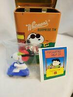 Vintage Peanuts Snoopy Whitman's Surprise Tin Joe Cool -