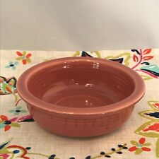 Vintage Fiestaware Rose 4.75 inch Fruit Bowl Fiesta 1950s Pink Small Bowl