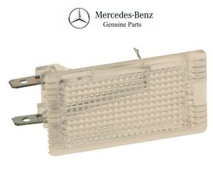 For Mercedes W107 Dome Light Glove Box Light R107 SL Entrance GENUINE 1268201301