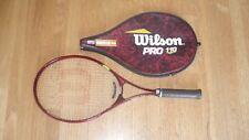 "Wilson Pro 110 Tennis Racket - New Pro Sensation Grip Wrap - 4 1/4"" L2"