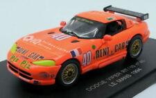 Voitures des 24 Heures du Mans miniatures 1:43 Dodge