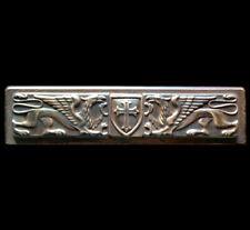Crusader Templar Griffins Shield Coat of Arms Symbol Sign wall sculpture plaque