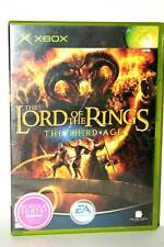 THE LORD OF THE RINGS THE THIRD AGE USATO BUONO STATO XBOX ED INGL PAL FR1 38719