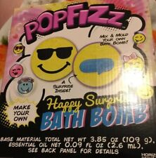 Pop Fizz Happy Surprise Bath Bomb Mix & Mold Your Own - Brand New!