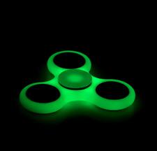 Fidget Spinner 3 Bar Hand Finger EDC Focus Konzentration ADHS Leuchtende Nacht