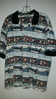* GOLF Classic by Munsingwear shirt  Size XLarge 100% Cotton multi color