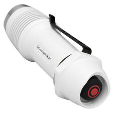 TORCIA LED LENSER F1 WHITE MILITARY POLICE SWAT FIREMAN SECURITY TACTICAL TORCH