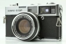【EXC++++】Olympus 35 SP Rangefinder Film Camera G.Zuiko 42mm f/1.7 Japan #114