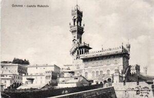 VINTAGE POSTCARD CASTELLO MAKENZIE GENOA ITALY POSTED 1907