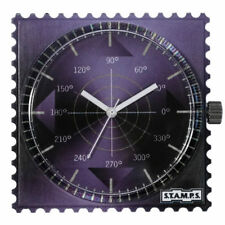 S.T.A.M.P.S. Stamps  Uhr Zifferblatt Shades of Violet - frogman
