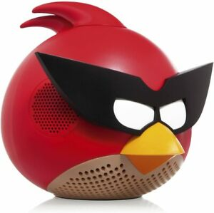 Gear4 Bird Angry Birds Space Speaker with 3.5mm Jack, Red NIB