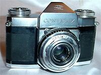 Zeiss Ikon Contaflex 35mm SLR Film Camera With 45mm Lens